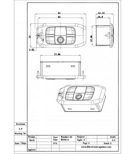 Puesto de Butaca GM02 para traduccion simultanea cableada Digital