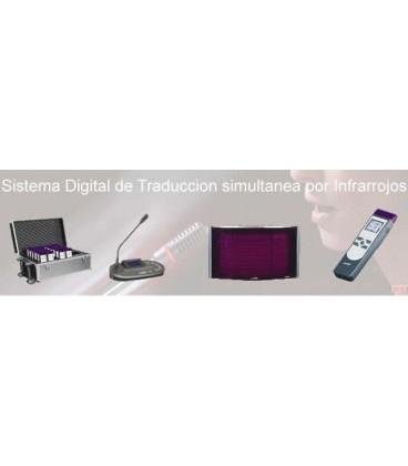 Alquiler traducción simultanea infrarrojos, alquiler cabinas de intérpretes, Alquiler sistemas de conferencia