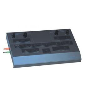 Pupitre de intérprete del sistema de traducción simultanea infrarrojo de 11 canales