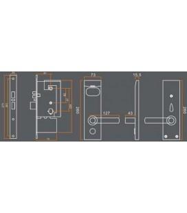 Cerradura Electrónica NFC y  Proximidad Canarias