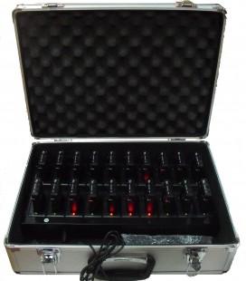 Maletin con  60 nunidades + 1 transmisor