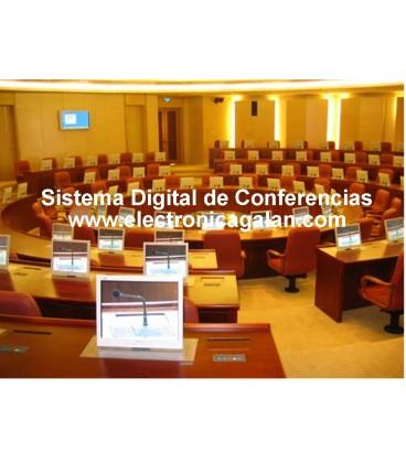 Software de gestion del sistema de  conferencias y siste,ma de debates   HT 2000