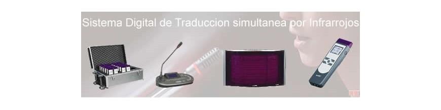Traducción simultanea  Infrarrojos 11 Canales