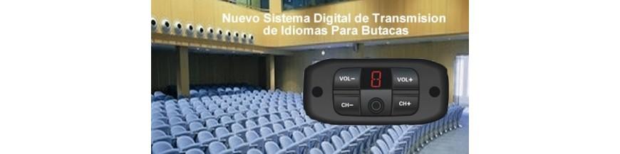 Traducción  Simultánea Fija en Butacas