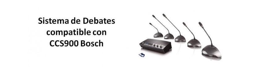 Sistemas de Debate CCS900 Bosch