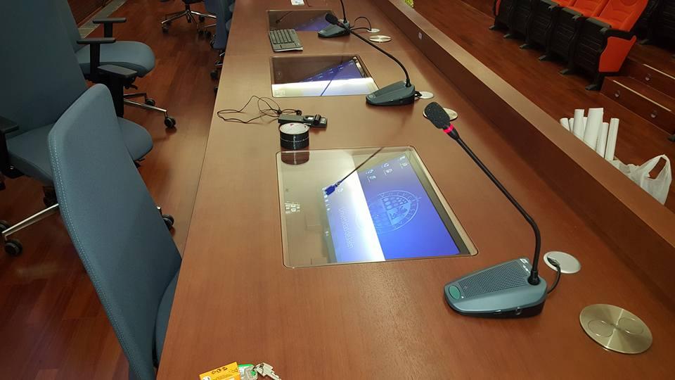 mesas de presidencia