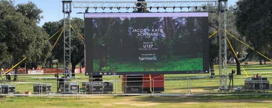 alquiler pantalla led gigante Linares