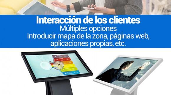 Totem Y Puntos de Información Digital Tactil