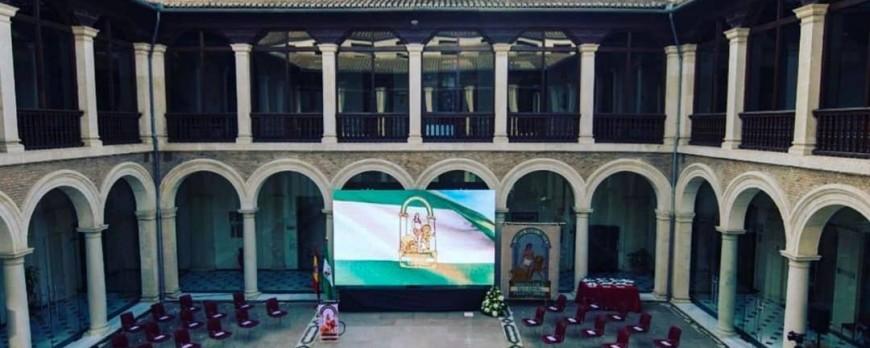 Entrega de Banderas dia de Andalucia 2021